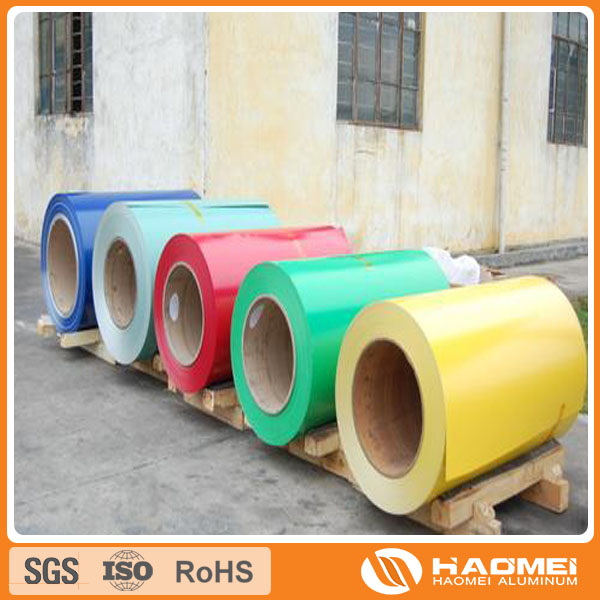 5052 color coated aluminum coil in roofing and cladding syste