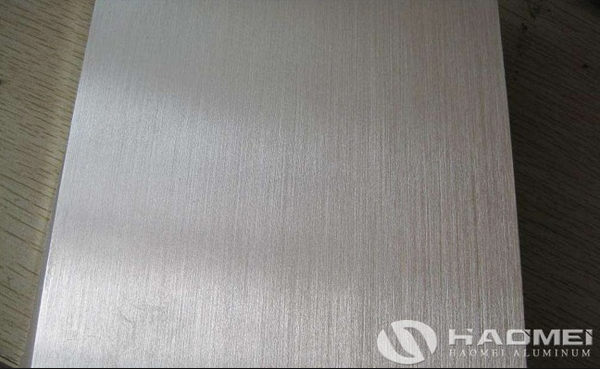polished surface brushed aluminum sheet/plate