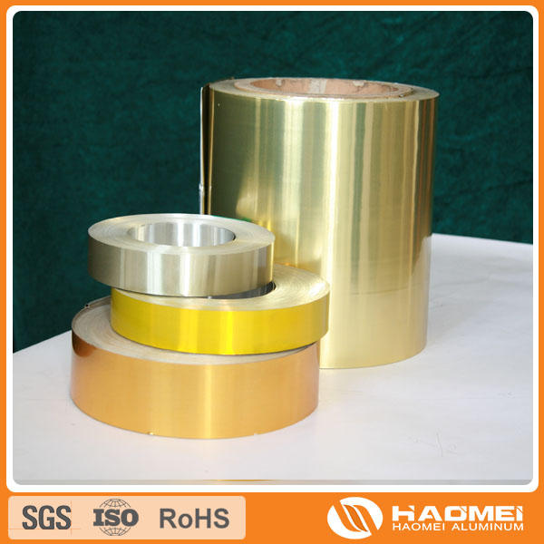 Aluminum strip for closures
